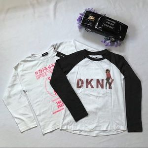 Diesel and DKNY New Shirt Bundle for Girls M